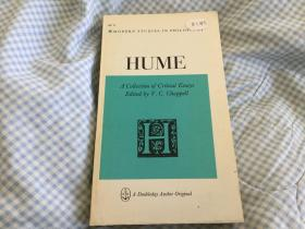 Hume, A Collection of Critical Essays 休谟批评论集,1966 Doubleday Anchor首版,品佳,孔网唯一