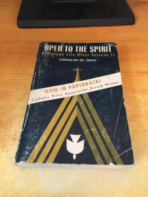 OPEN TO THE SPIRIT(敞开心扉)原版外文