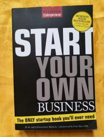 英文原版书籍《START YOUR OWN BUSINESS》