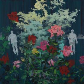 孙 侃《分径的花园》HXTX105633