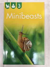 尾单书 reading alone with some help level3  minibeasts 平装 在帮助下独自阅读系列3 小型兽