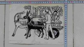 设计绘画样稿1986