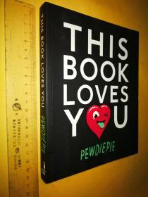 英文原版 大32开本 全彩印 This Book Loves You