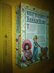 英文原版 What to Expect The Toddler Years