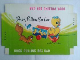 儿童玩具 小鸭子 出口商标广告