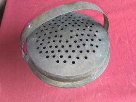 脚炉(纯铜)直径25厘米(双喜耳环)