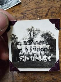 五六十年代南京大学――运动员合影照片