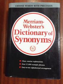 2  库存无瑕疵未使用 美国进口词典   Websters Dictionary of Synonyms 韦氏同义词辞典