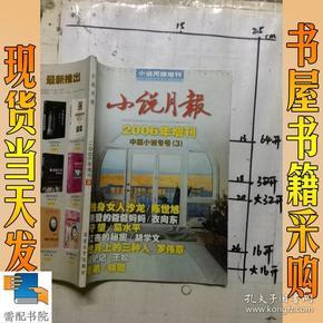 小说月报    2006年增刊  中篇小说专号   3