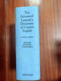 英国原装进口辞典 第二版牛津高阶英语词典 带软塑料 护封 THE ADVANCED LEARNER'S DICTIONARY OF CURRENT ENGLISH