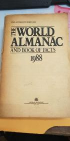 THE WORLD ALMANAC AND BOOK OF FACTS 1988(封面缼失,有小小水印)