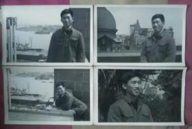 男子上海街景照片7张
