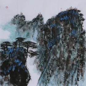 名家魏紫熙山水国画纯手绘