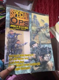 SPECIAL OPS :JOURNAL OF THE ELITE ELITE FORCES & SWAT UNITS VOL.17