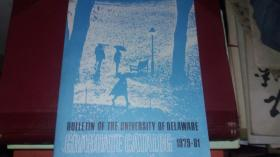 bulletin of the university of delaware  graduate catalog 1979-81