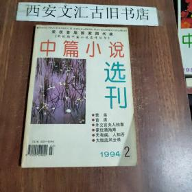 中篇小说选刊 1994、2