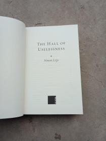 Simon Leys: The Hall of Uselessness 【精装本,英文原版,全新无书衣】
