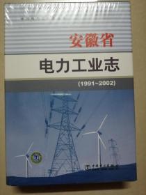 安徽省电力工业志(1991--2002)
