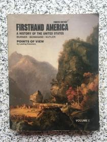 firsthand America a history of the United States volume i