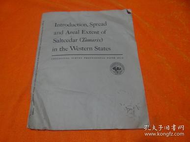 【地质调查专业论文491-A —— 西洋雪松在美国西部各州的引种、推广及面积范围 】