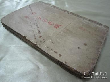 民国上海广益书局线装石印本《绘图改良今古奇观》,全六卷四十回,合订线装一厚册。前有精美绘图绣像数幅,品如图!