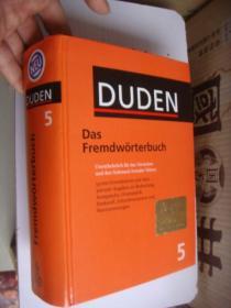 德文原版 DUDEN Das Fremdwörterbuch 精装厚本 全新