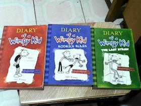 Diary of a Wimpy Kid 1.2.3(3本合售)