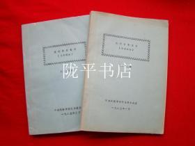 报刊目录索引(语言部分 第二十二期+文学部分 第二十三期)