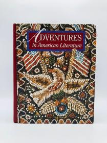 Adventures in American Literature: Athena Edition (Holt Adventures in Literature) 英文原版《美国文学中的冒险:雅典娜版》(霍尔特文学冒险)