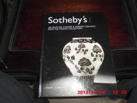 SOTHEBYS  伦敦苏富比2004年6月9日春拍:户栗美术馆珍藏中国瓷器 专场拍卖图录 THE TOGURI COLLECTION SOTHEBYS  (精装)