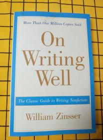 On Writing Well:The Classic Guide to Writing Nonfiction(英文原版)