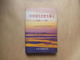 中共绥化历史大事记(1988----2003)