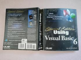 Using Visual Basic 6【实物拍图 无盘】英文版