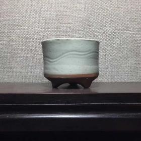 《素雅》明代,影青瓷香炉文房琴炉