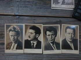 五六十年代翻拍  苏联明星照4张