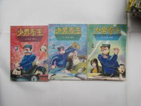 少男拳王(1-3)3本合售