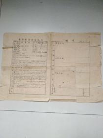 长安县干部登记表    程万杰
