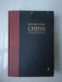 john king fairbank china a new history(約翰國王費正清中國一個新的歷史)有霉漬