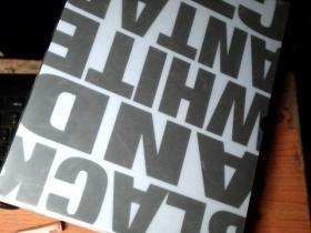 黑白南极 南极图片摄影 画册 (作者签名,8开布面精装)带盒    9HH