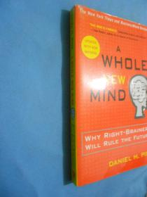 A Whole New Mind: Why Right-Brainers Will Rule the Future【英文原版,个人藏书】无涂划,里页新。