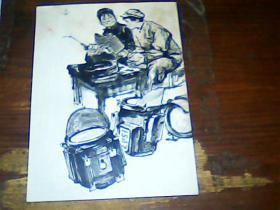 女焊工:画片一张《周思聪 绘画》