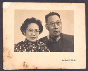 1963年,一位中校军官的结婚照