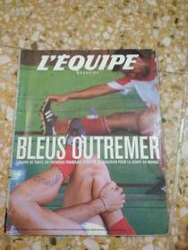 LEQUIPE magazine            2001年(总996期)
