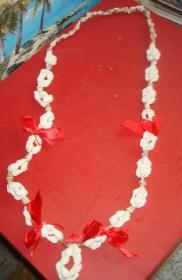 小海螺贝壳项链纯手工制作大海风韵 天然贝壳珠海螺壳等装饰工艺