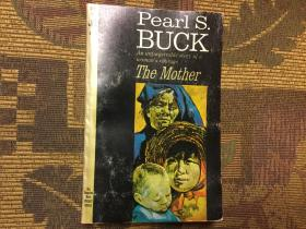 The Mother by Pearl S. Buck  赛珍珠《母亲》,1966 Pocket Books版,三面刷红,稀少