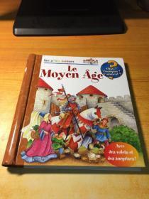 Les ptits juniors Le Moyen Age(原版法文)翻翻书