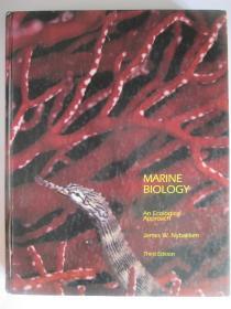 MARINE BIOLOGY (AN ECOLOGICAL APPROACH)Third Edition  海洋生物学(生态的方法)