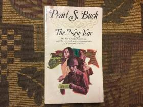 The New Year by Pearl S. Buck  赛珍珠《新年/过年》,1972 Pocket Books版,三面刷黄,稀少