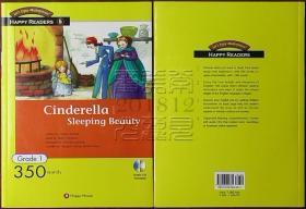 韩国原版-HAPPY READERS Cinderella│Sleeping Beauty(灰姑娘/睡美人 英文,有随书CD)◇