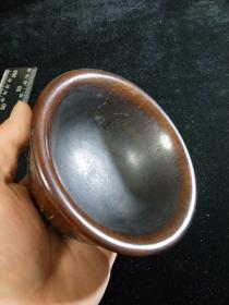 Yak horn cup, decoration. Dimensions and weight see the picture.